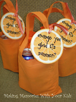 Orange You Glad It's Summer? | Fun Family Crafts