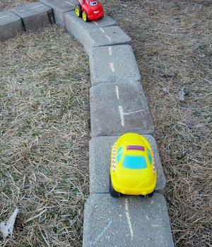 DIY Outdoor Road