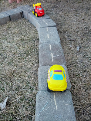 DIY Outdoor Road