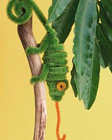 Pipe Cleaner Chameleon