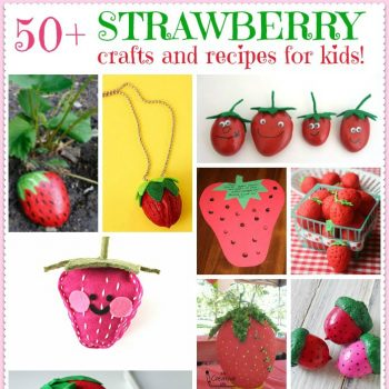 Strawberry Crafts and Recipes