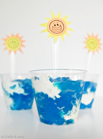Summer Skies Jello Snack