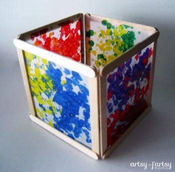 Wax Paper Lantern