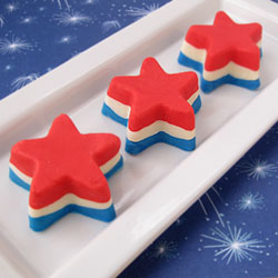 Patriotic Fudge Stars