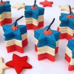 Exploding Firecracker Cookies