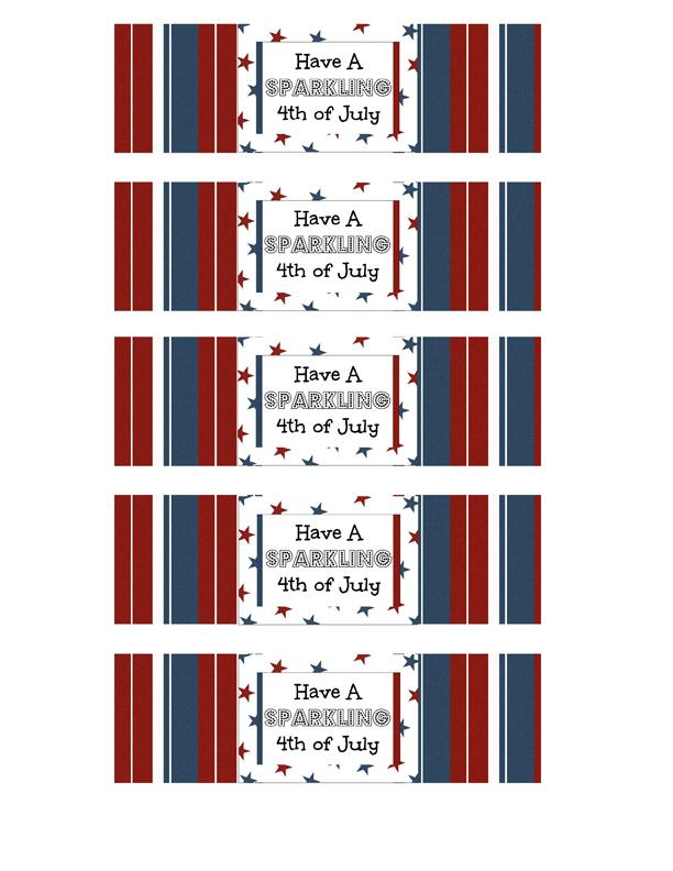 4th of July Celebration Printables