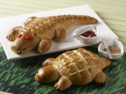 Alligator and Turtle Bread