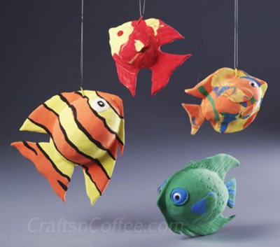Magic clay fish fun family crafts for The magic fish