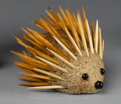 Foam Hedgehog