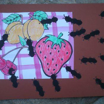 Picnic Fruit Printable
