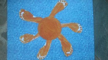 Summer Footprint Sun