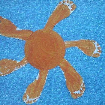 Summer Footprint Sun