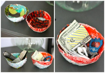 Scrappy Fabric Bowls