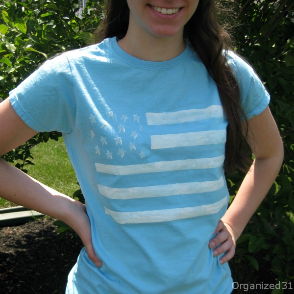 Patriotic Painted Tee