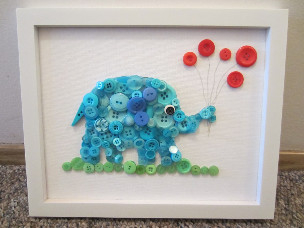 Button Elephant | Fun Family Crafts