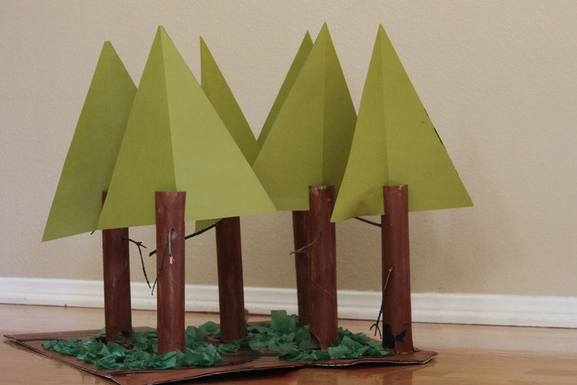 California Redwood Forest Fun Family Crafts