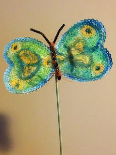 Doily Butterfly