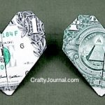 Dollar Bill Heart Origami