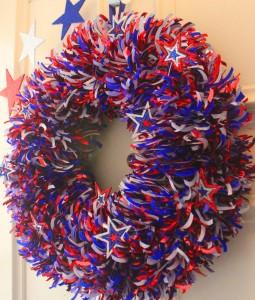 Fireworks Wreath