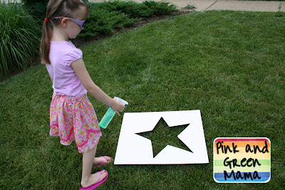 Sifted Flour Lawn Stars