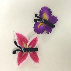 Magnetic Flower Butterflies
