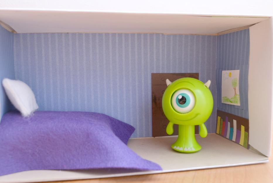 Shoebox Monster Room