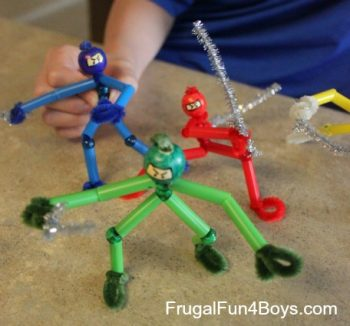 Pipe Cleaner Ninjas