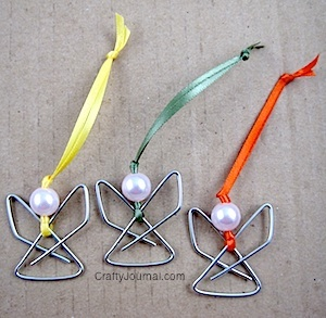 Paper Clip Angel Fun Family Crafts