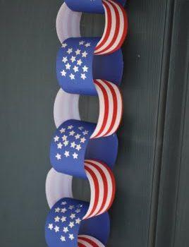 Patriotic Paper Chain