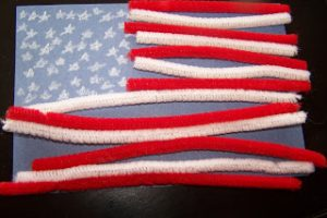 Pipe Cleaner Flag