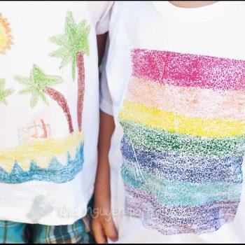 Sandpaper Art T-Shirt