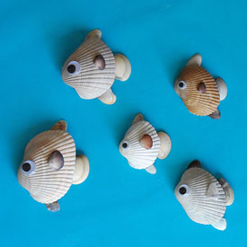 Seashell Fish Fun Family Crafts