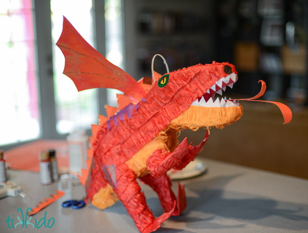 Smaug Dragon Pinata Fun Family Crafts