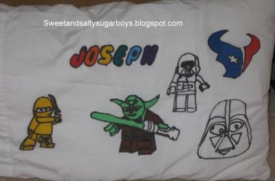 Pillowcase Drawing