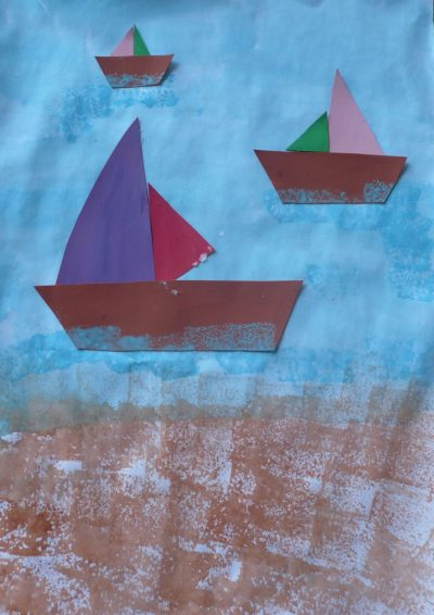Colorful Ships