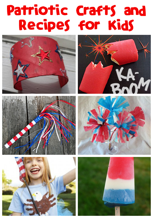 Patriotic Crafts & Recipes for Kids