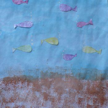 Sponge Prints - Sea & Fish