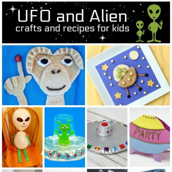 UFO and Alien Crafts and Recipes