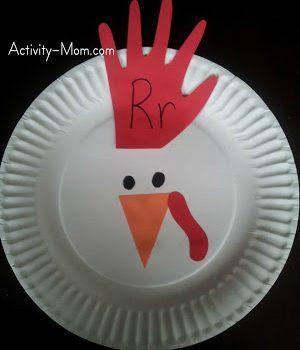 Handprint Rooster