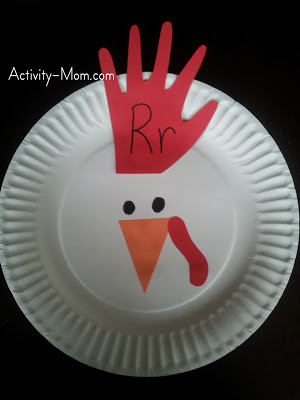 Handprint Rooster Fun Family Crafts