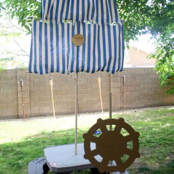 DIY Pirate Mast & Sails
