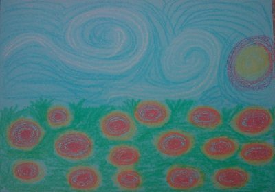 Van Gogh Sunflower Art