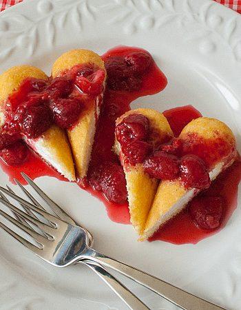 Twinkie Heart Cake