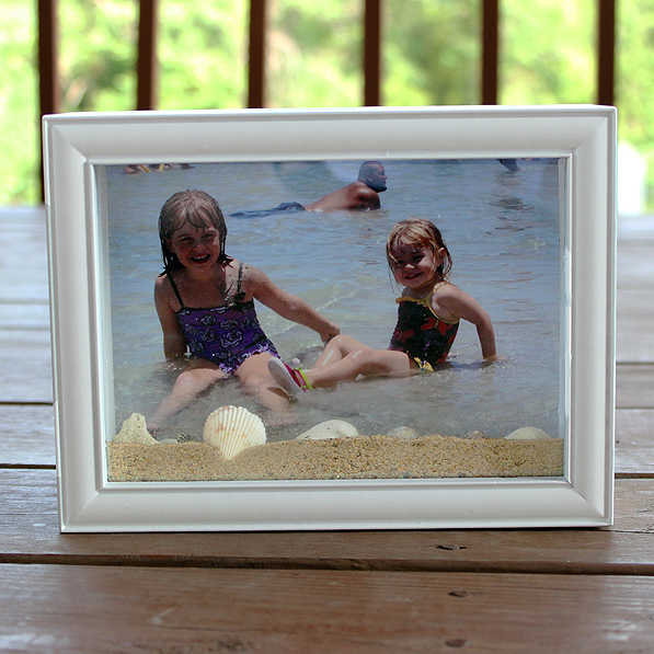 Beach Shadow Box