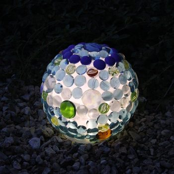 Glowing Garden Ball