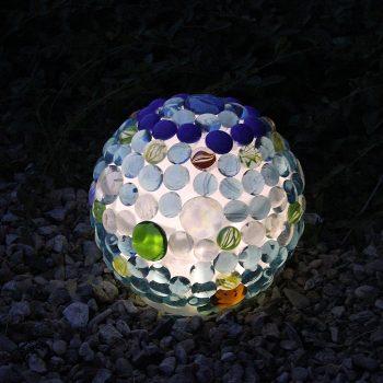 Glowing Garden Ball