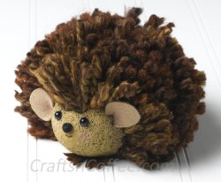 Yarn Baby Hedgehog
