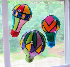 Oz-Inspired Hot Air Balloons