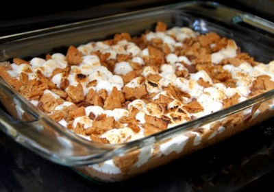S'More Bars with Rolos
