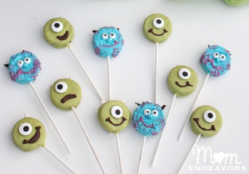 Mike & Sulley Monsters Oreo Pops